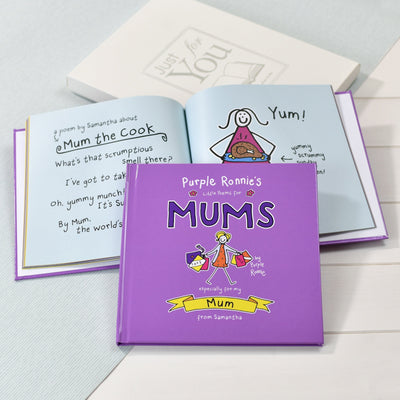 Purple Ronnie's Personalised Little Poems for Mums - Personalised Books-Personalised Gifts-Baby Gifts-Kids Books