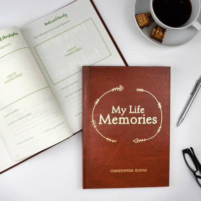 Personalised Lifetime Memory Book - Shop Personalised Gifts