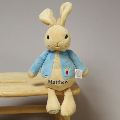 Personalised My First Peter Rabbit Baby Toy - shop-personalised-gifts