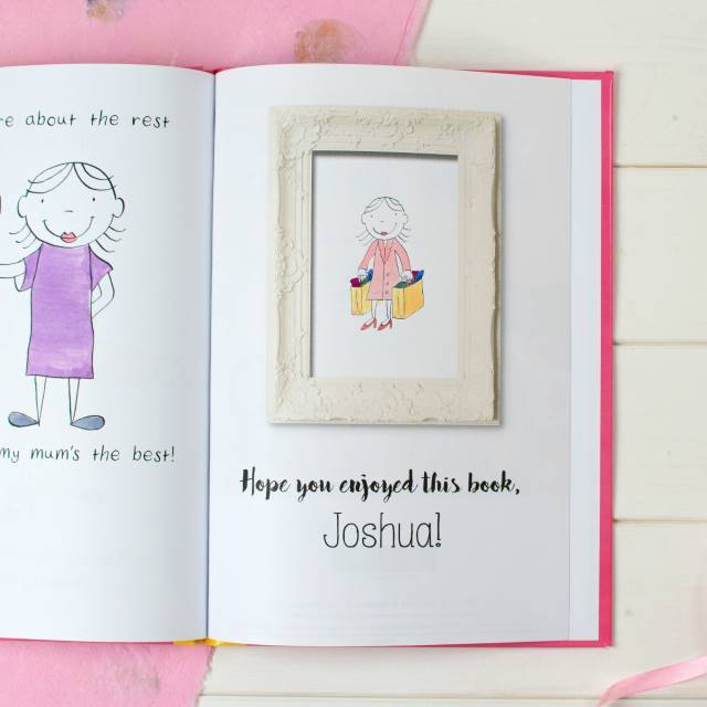 Personalised My Mum Book - Shop Personalised Gifts