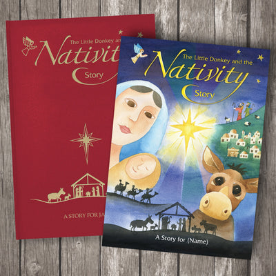 The Little Donkey and the Nativity Story -  Childrens Christmas Book - Shop Personalised Gifts