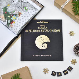 Personalised Disney Nightmare before Christmas Story Book - shop-personalised-gifts
