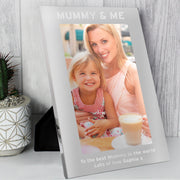 Personalised & Me 7x5 Silver Photo Frame - Personalised Books-Personalised Gifts-Baby Gifts-Kids Books