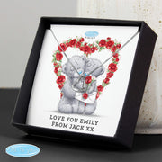 Personalised Me to You Valentine Sterling Silver Sentiment Heart Necklace and Box - Personalised Books-Personalised Gifts-Baby Gifts-Kids Books