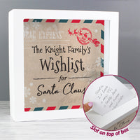 Personalised Wishes, Lists and Letters for Santa Keepsake Box - Shop Personalised Gifts