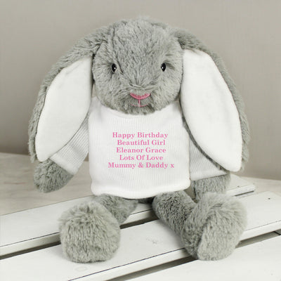 Personalised Message Easter Bunny Rabbit - Personalised Books-Personalised Gifts-Baby Gifts-Kids Books