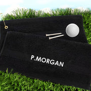 Personalised Golf Towel - Shop Personalised Gifts