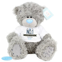 Personalised Me to You Teddy Bear with No.1 T-Shirt