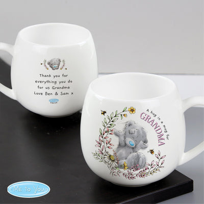 Personalised Me to You Bees Rounded Bone China Mug - Shop Personalised Gifts