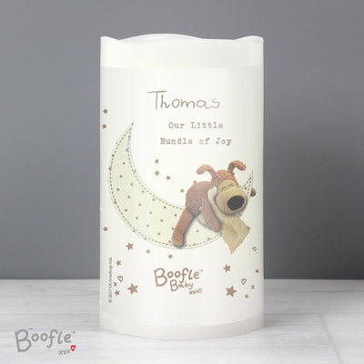 Personalised Boofle Baby Nightlight LED Candle - Personalised Books-Personalised Gifts-Baby Gifts-Kids Books