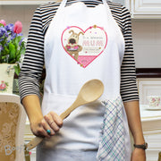 Personalised Boofle Flowers Apron - Shop Personalised Gifts