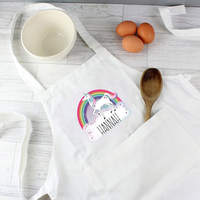 Personalised Unicorn Children's Apron - Personalised Books-Personalised Gifts-Baby Gifts-Kids Books