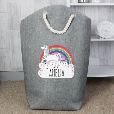 Personalised Unicorn Storage Bag - Shop Personalised Gifts