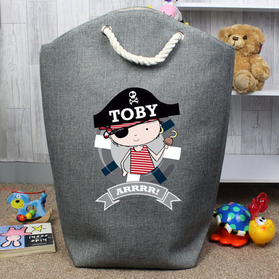 Personalised Pirate Storage Bag - Shop Personalised Gifts