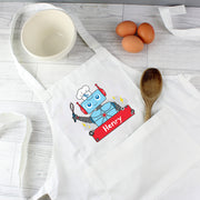 Personalised Robot Children's Apron - Personalised Books-Personalised Gifts-Baby Gifts-Kids Books