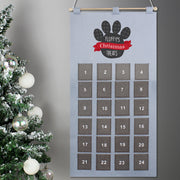 Personalised Felt Pet Advent Calendar In Silver Grey - Personalised Books-Personalised Gifts-Baby Gifts-Kids Books