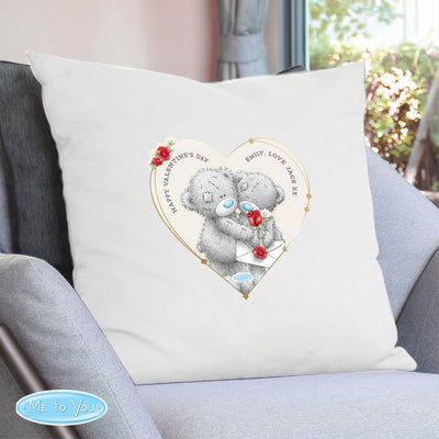 Personalised Me to You Valentine Cushion Cover - Shop Personalised Gifts