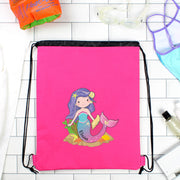 Personalised Mermaid Pink Swim & Kit Bag - Shop Personalised Gifts