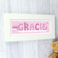 Personalised Little Princess Name Frame - Shop Personalised Gifts