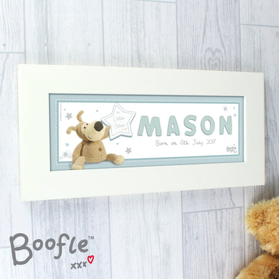Personalised Boofle It's a Boy Name Frame - Personalised Books-Personalised Gifts-Baby Gifts-Kids Books