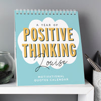 Personalised Motivational Quotes Desk Calendar - Shop Personalised Gifts