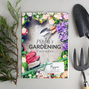 Personalised A4 Gardening Calendar - Shop Personalised Gifts