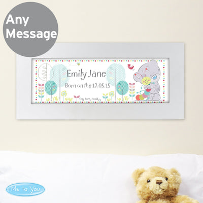 Personalised Tiny Tatty Teddy Cuddle Bug Name Frame - Shop Personalised Gifts