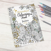 Personalised Botanical Colouring Book - Shop Personalised Gifts