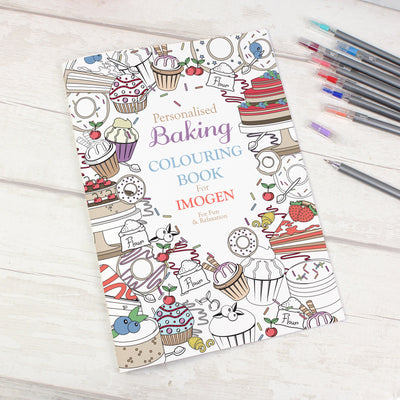 Personalised Baking Colouring Book - Shop Personalised Gifts
