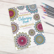 Personalised Mandala Colouring Book - Personalised Books-Personalised Gifts-Baby Gifts-Kids Books