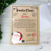 Personalised Santa Claus Letter Christmas Letter For Children - Personalised Books-Personalised Gifts-Baby Gifts-Kids Books