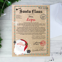 Personalised Santa Claus Letter Christmas Letter For Children - Shop Personalised Gifts