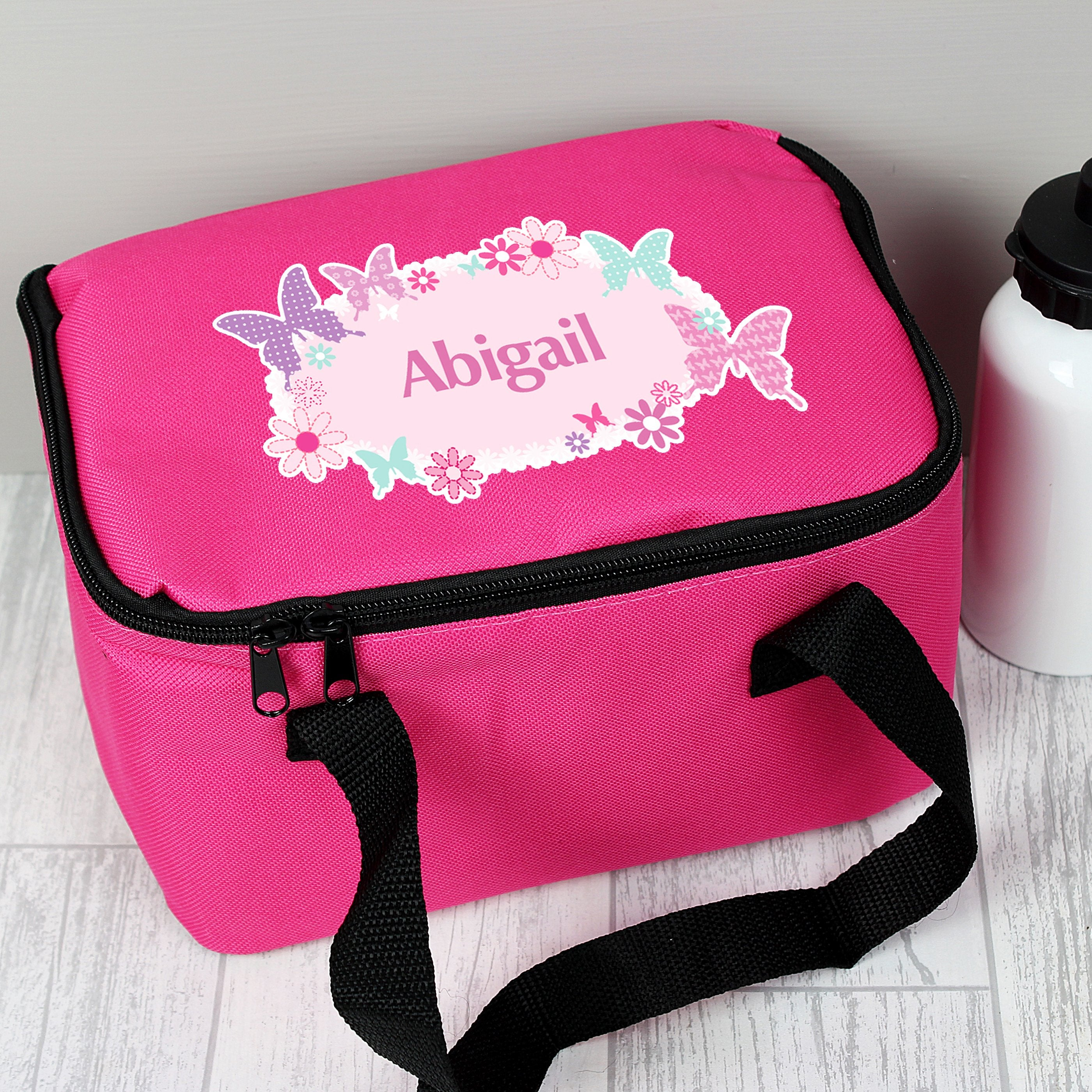 Personalised Butterfly Insulated Lunch Bag - Shop Personalised Gifts