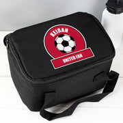 Personalised Red Football Fan Insulated Lunch Bag - Personalised Books-Personalised Gifts-Baby Gifts-Kids Books