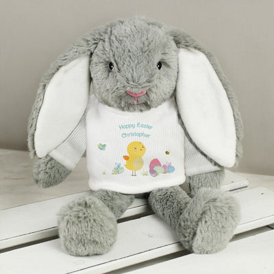 Personalised Easter Meadow Bunny Rabbit - Shop Personalised Gifts