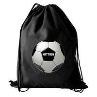 Personalised Football Black Swim & Kit Bag - Shop Personalised Gifts