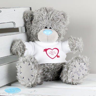Personalised Me to You Teddy Bear with Hearts T-Shirt - shop-personalised-gifts