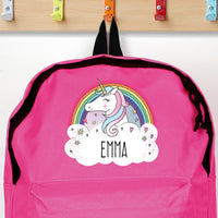Personalised Unicorn Pink Backpack - Shop Personalised Gifts