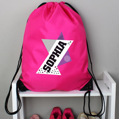 Personalised Dance Pink Kit Bag - Shop Personalised Gifts