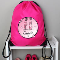 Personalised Ballet Pink Kit Bag - Shop Personalised Gifts