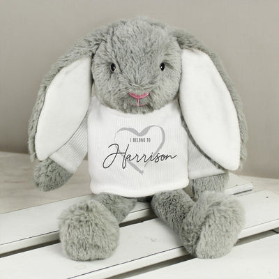 Personalised 'I Belong To' Easter Bunny Rabbit - Shop Personalised Gifts