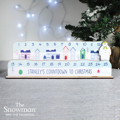 Personalised Make Your Own The Snowman Christmas Advent Countdown Kit - Shop Personalised Gifts