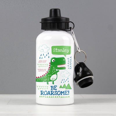 Personalised 'Be Roarsome' Dinosaur Drinks Bottle - Shop Personalised Gifts