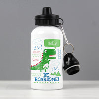 Personalised 'Be Roarsome' Dinosaur Drinks Bottle - Personalised Books-Personalised Gifts-Baby Gifts-Kids Books