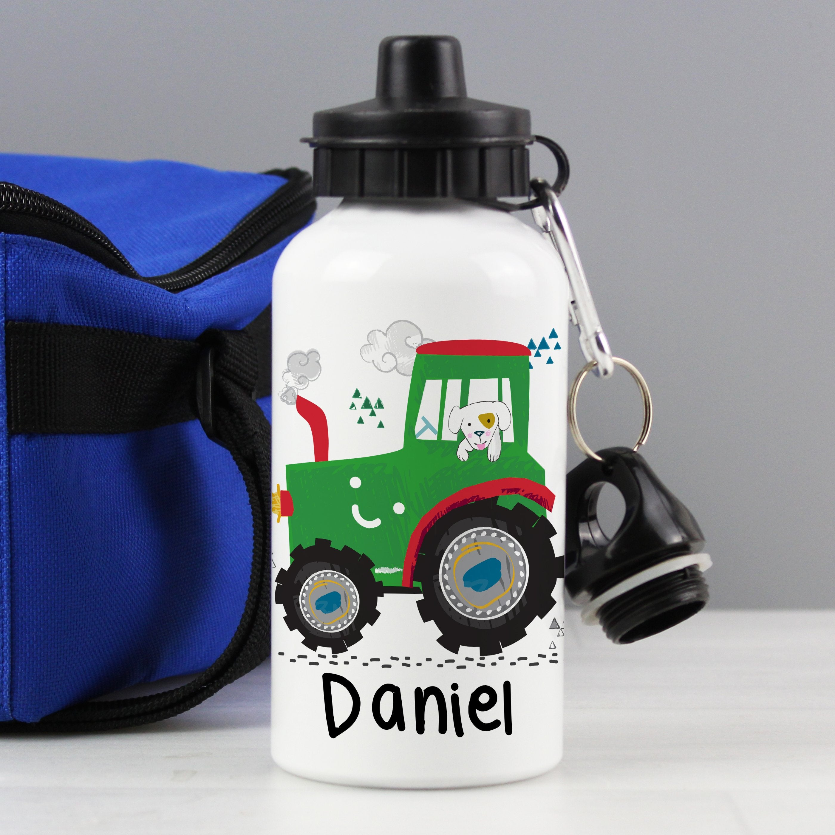 Personalised Tractor Drinks Bottle - Shop Personalised Gifts