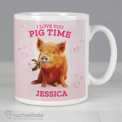 Personalised Rachael Hale Ceramic 'I Love You Pig Time' Mug - Personalised Books-Personalised Gifts-Baby Gifts-Kids Books