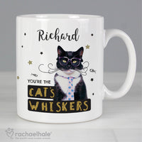 Personalised Rachael Hale Ceramic 'You're the Cat's Whiskers' Mug - Personalised Books-Personalised Gifts-Baby Gifts-Kids Books