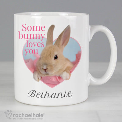 Personalised Rachael Hale Ceramic 'Some Bunny' Mug - Shop Personalised Gifts