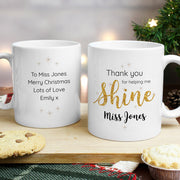 Personalised Shine Teacher Ceramic Mug - Personalised Books-Personalised Gifts-Baby Gifts-Kids Books