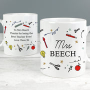 Personalised School Teachers Ceramic Mug - Personalised Books-Personalised Gifts-Baby Gifts-Kids Books